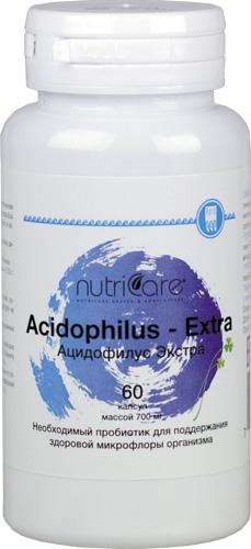 Ацидофилус Экстра, капсулы, 60 шт