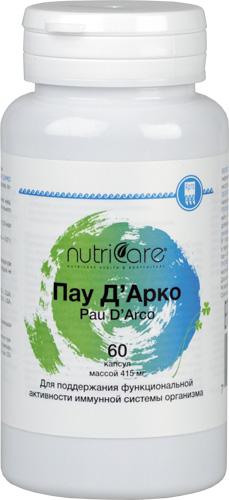 Nutricare Пау Д'Арко, капсулы, 60 шт