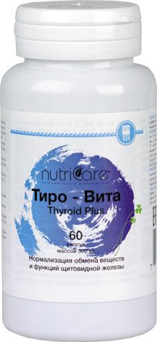 Тиро-Вита, капсулы, 60 шт