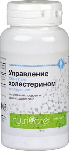 Управление холестерином, таблетки, 60 шт