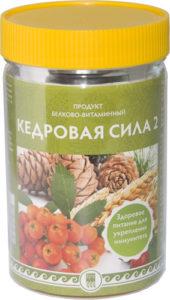 Продукт белково-витаминный «Кедровая сила — 2», 237 г