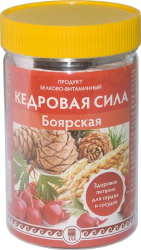 Продукт белково-витаминный «Кедровая сила — Боярская», 237 г