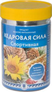 Продукт белково-витаминный «Кедровая сила — Спортивная», 237 г