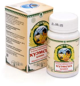 Продукт кисломолочный сухой «КуЭМсил» Цзамба, таблетки, 60 шт