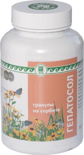 Напиток чайный гранулированный «Гепатосол на сорбите», 90 г