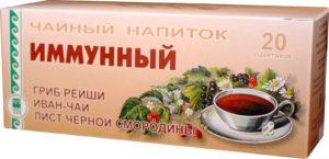 Напиток чайный «Иммунный», пакетики с сухой смесью, 40 г