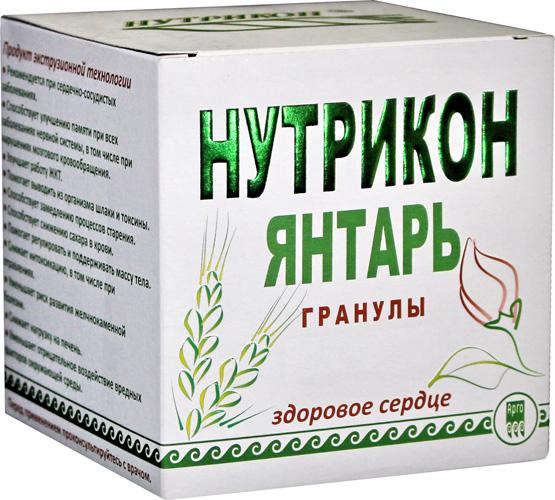 Нутрикон Янтарь, хрустящие гранулы, 350 г