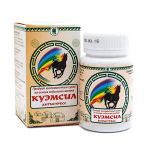 Продукт симбиотический «КуЭМсил Антистресс», 60 таблеток