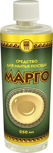 Средство для мытья посуды «Марго», без помпы, 250 мл