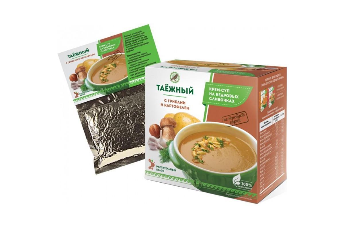 Крем-суп Таёжный с грибами и картофелем, 30 мл
