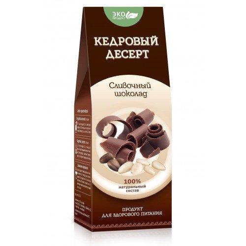 Кедровый десерт «Сливочный шоколад», 150 г