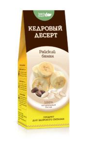 Кедровый десерт «Райский банан», 150г