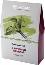 Токсидонт-май с фолиевой кислотой, 10 саше по 5 г