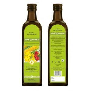 Масло растительное «Молодильное», 250 мл, стеклянная бутылка