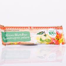 Батончик фруктовый «Яблоко-шиповник-черноплодная рябина», 30 г